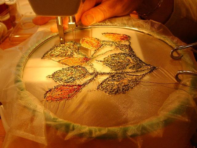 vrij borduren naaimachine
